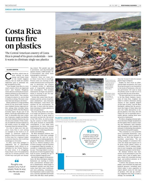 costa rica plastics